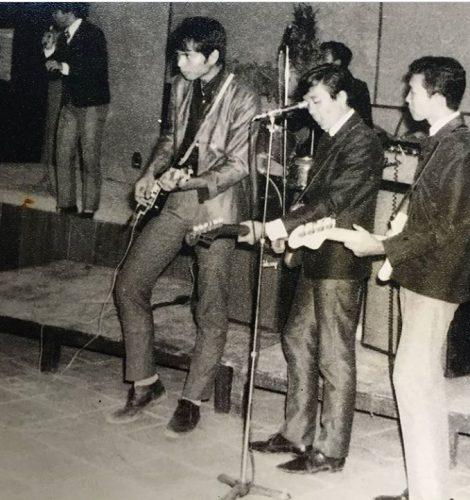 Band Pitagoras (1961-1971)... Haryo Sasongko (mas Kongko)